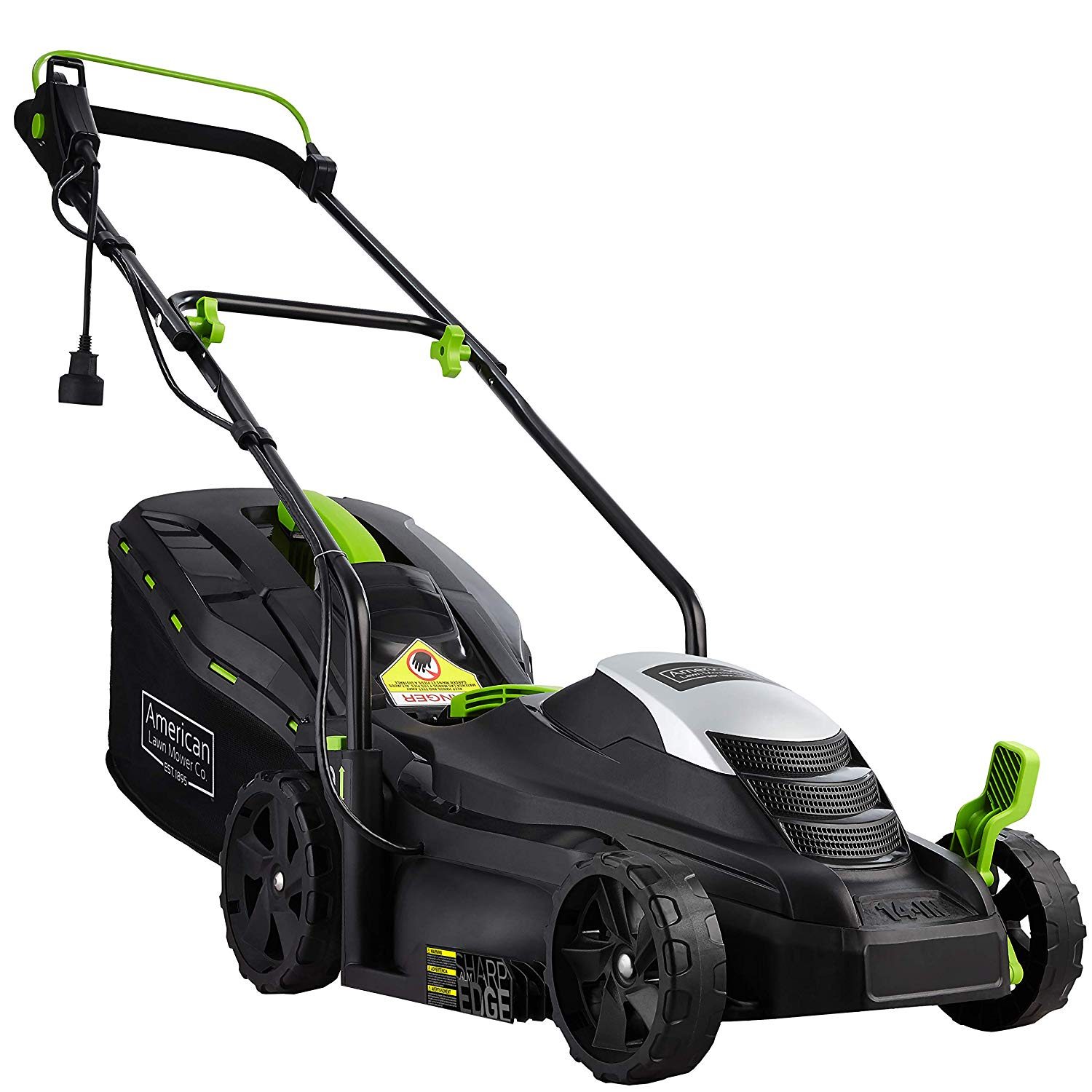 11-Amp Corded Electric Lawn Mower By American Lawn Mower Company