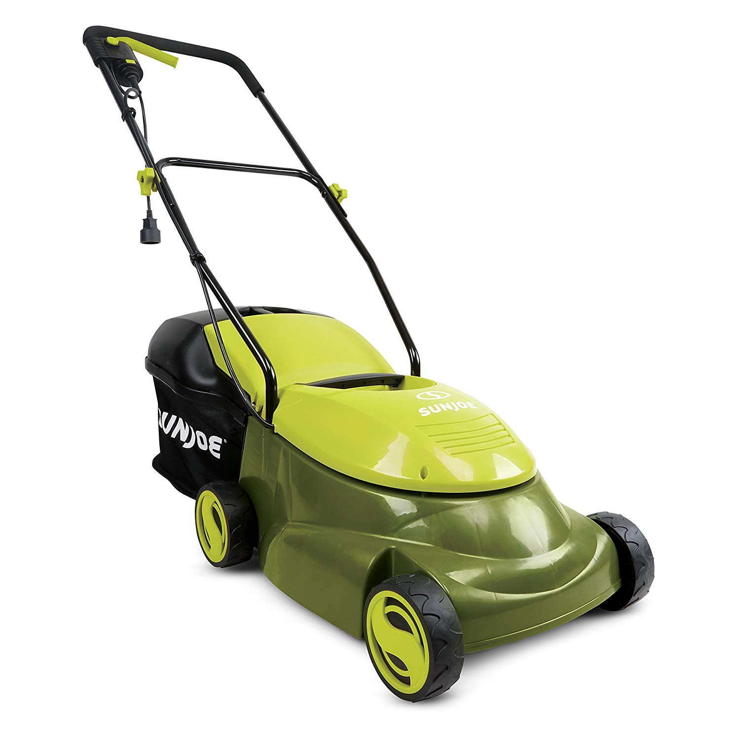 13 Amp Electric Lawn Mower with Side Discharge Chute By Sun Joe