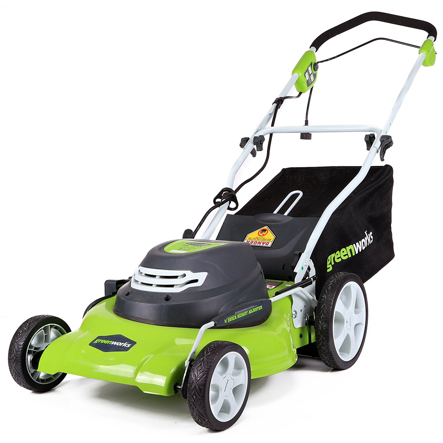 (25022) 20-Inch Corded Electric Lawn Mower from Greenworks