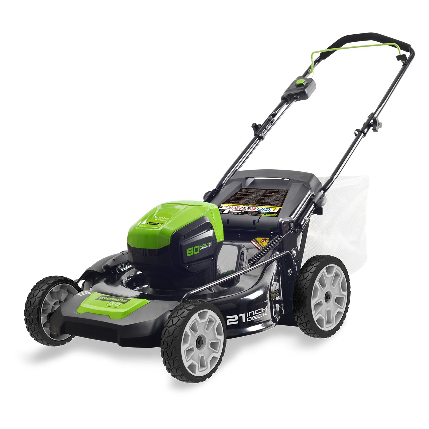 (2502202) 21-Inch 80V Cordless Lawn Mower from Greenworks