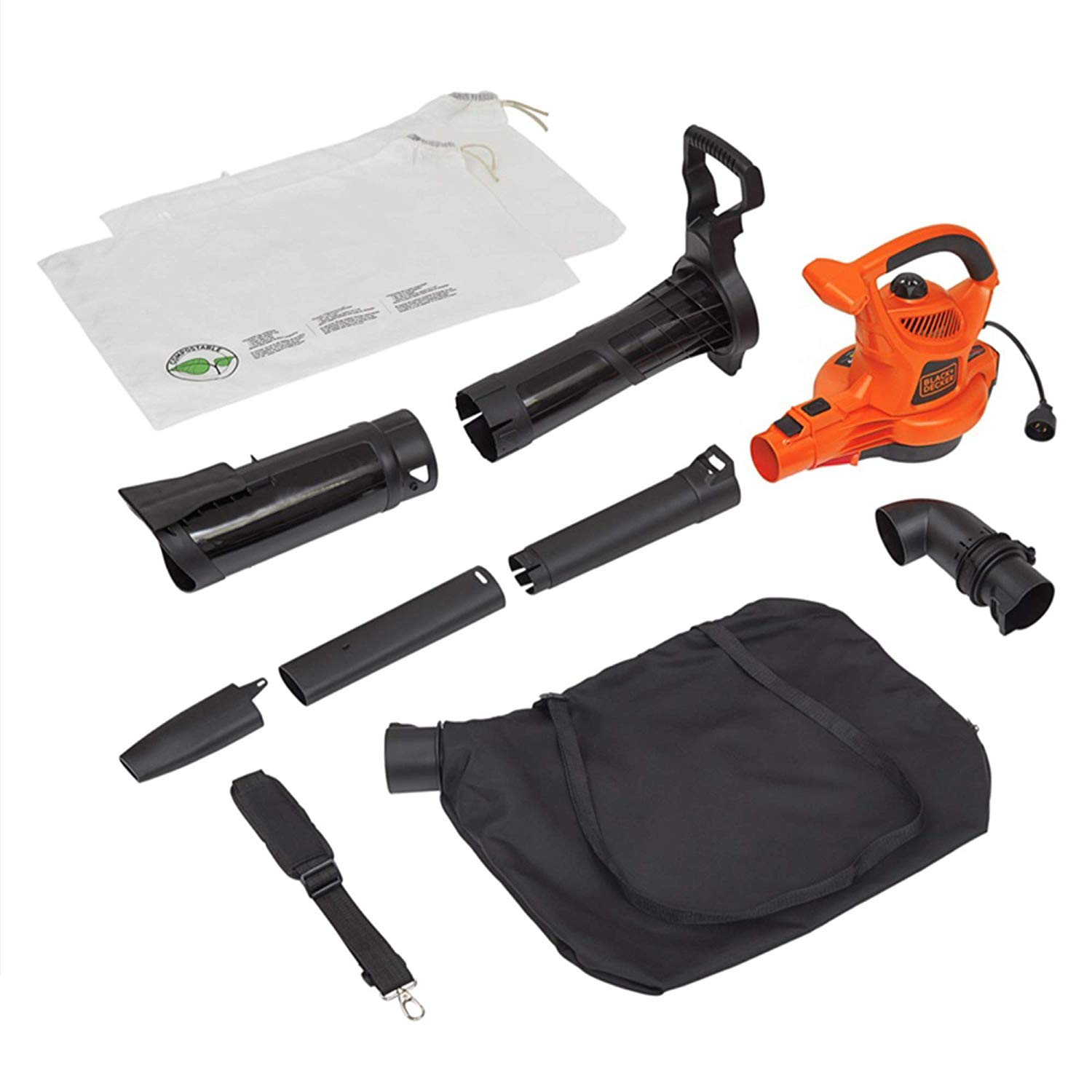 Black Decker Electric Leaf Blower & Mulcher