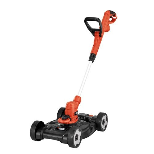 Electric 3-in-1 Trimmer and Mower By Black Decker