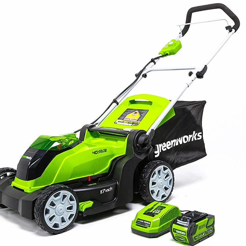 Greenworks 17 Inch 40V Cordless Lawn Mowerss