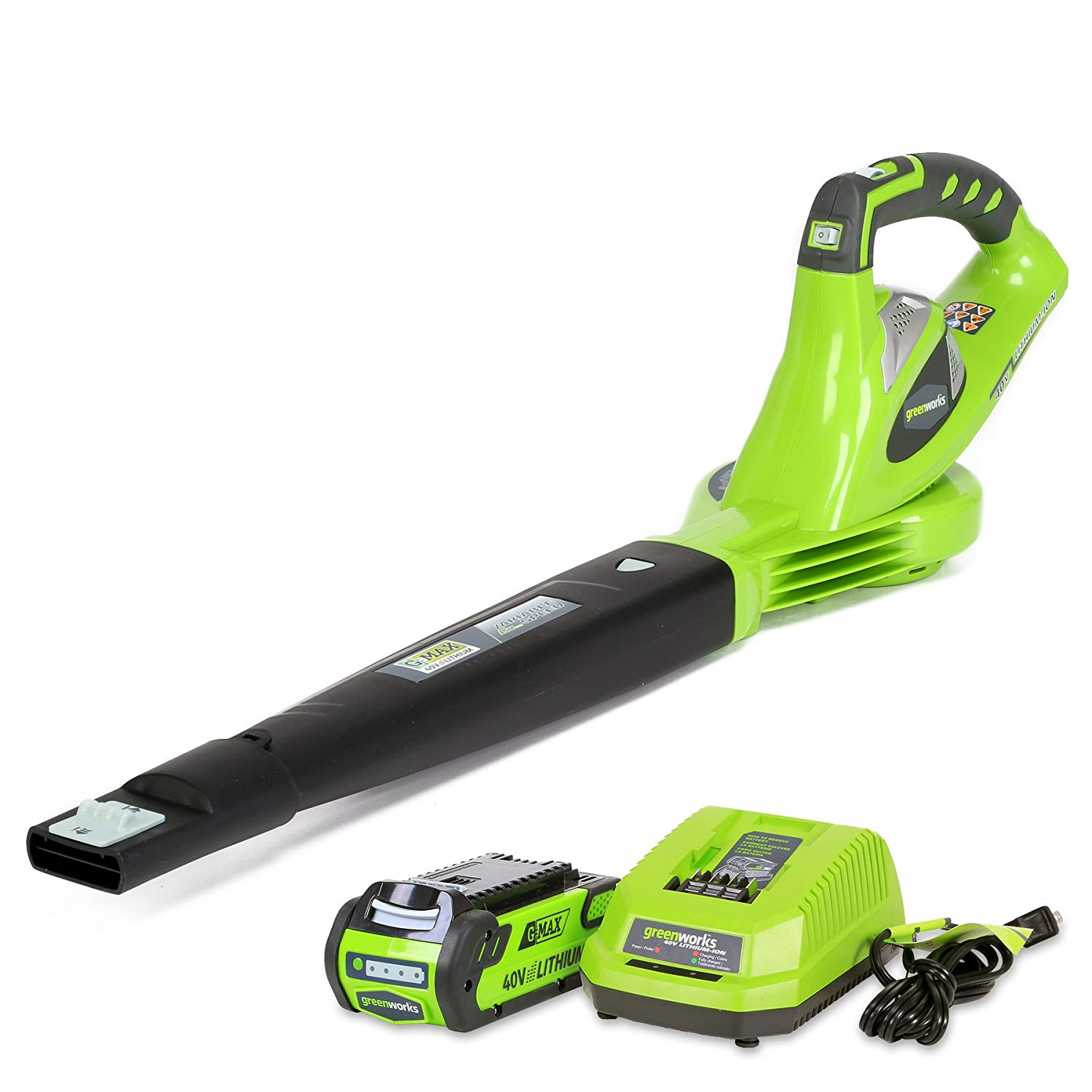 Greenworks Variable Cordless Leaf Blower
