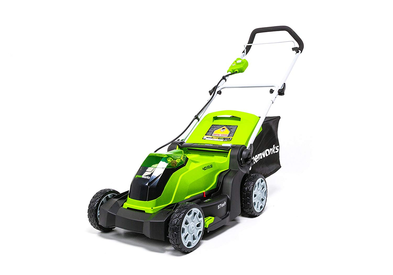 (MO40B01) 17-Inch 40V Cordless Lawn Mower From Greenworks