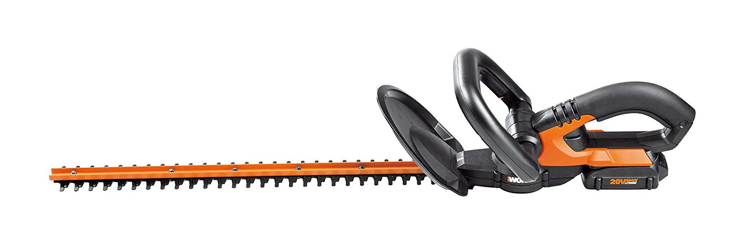 (WG255.1) 20V Electric Cordless Hedge Trimmer from Worx