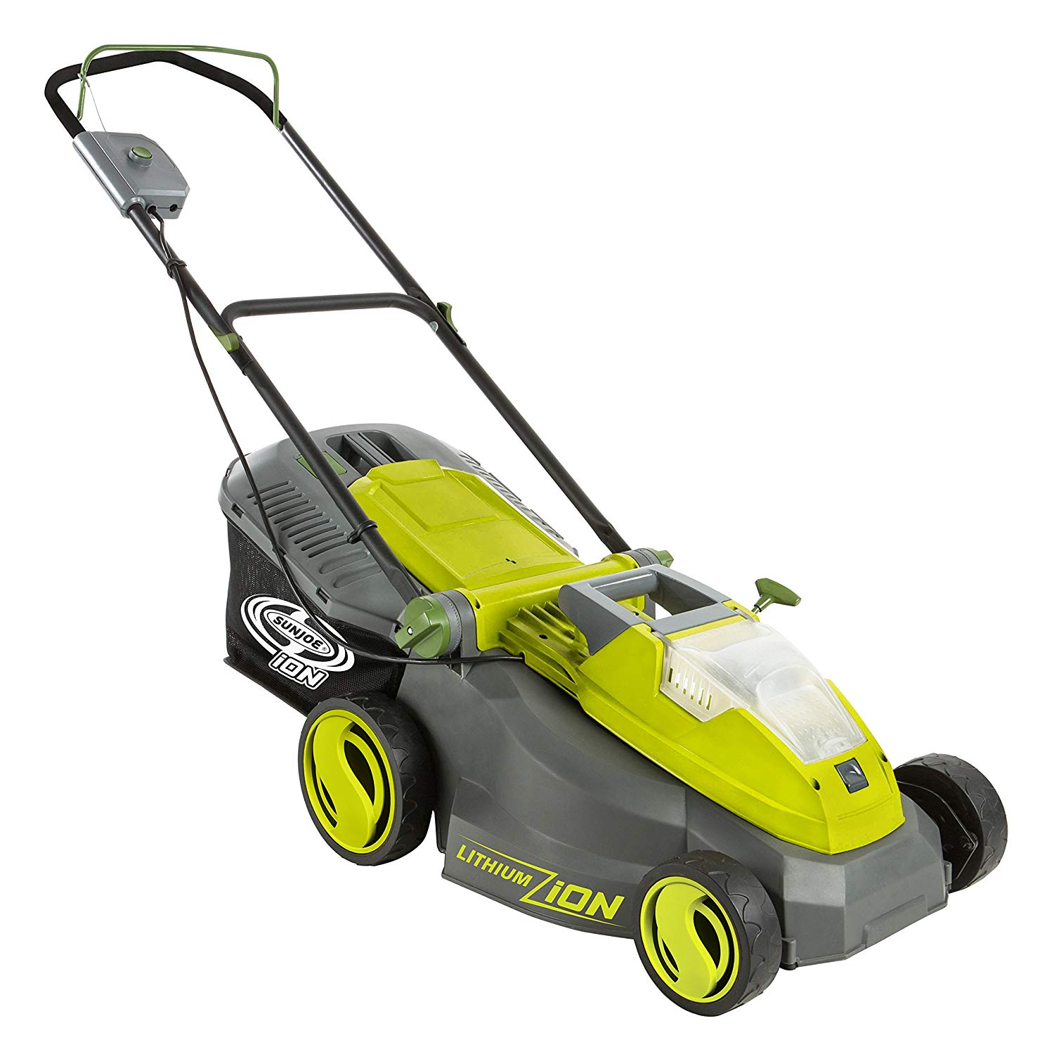 (iON16LM) 16-Inch Brushless Cordless Lawn Mower from Sun Joe
